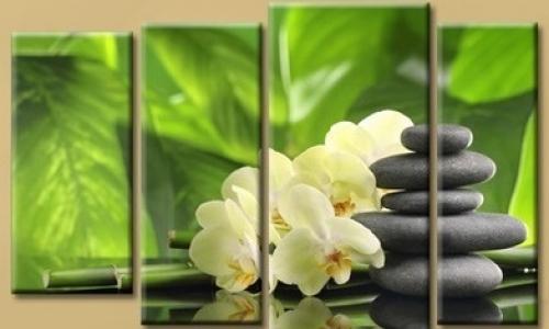 МК-049  Орхидея и бамбук