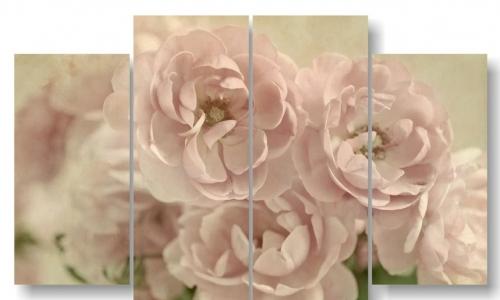 МК-039 Розы на винтажной бумаге