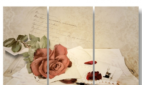 МК-022  Роза и письма