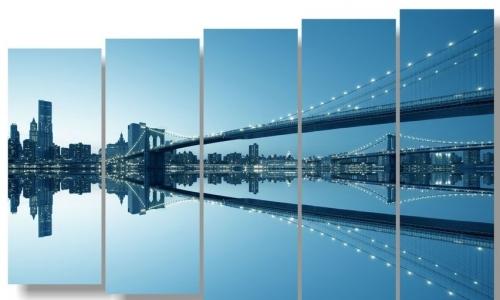 МК-073 Бруклинский мост зеркально